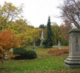Mt. Auburn cemetery