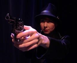 Blinders-Gun