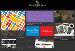 Dramatists Guild screen shot