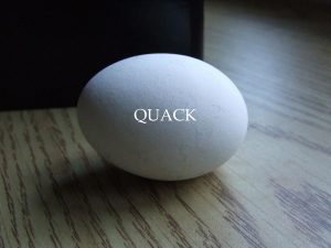 Quack - one act play