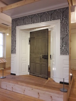 Interior of the Hancock door, featured in the play Cato & Dolly
