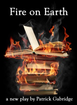 Fire on Earth burning books cover image