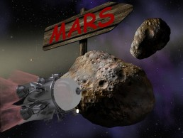 Stick Up for Mars - comedy ten-minute play by Patrick Gabridge