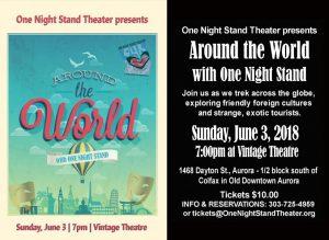 One Night Stand Around The World Poster