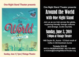 One Night Stand Around The World Poster