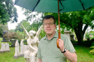 Patrick at Mount Auburn Cemetery